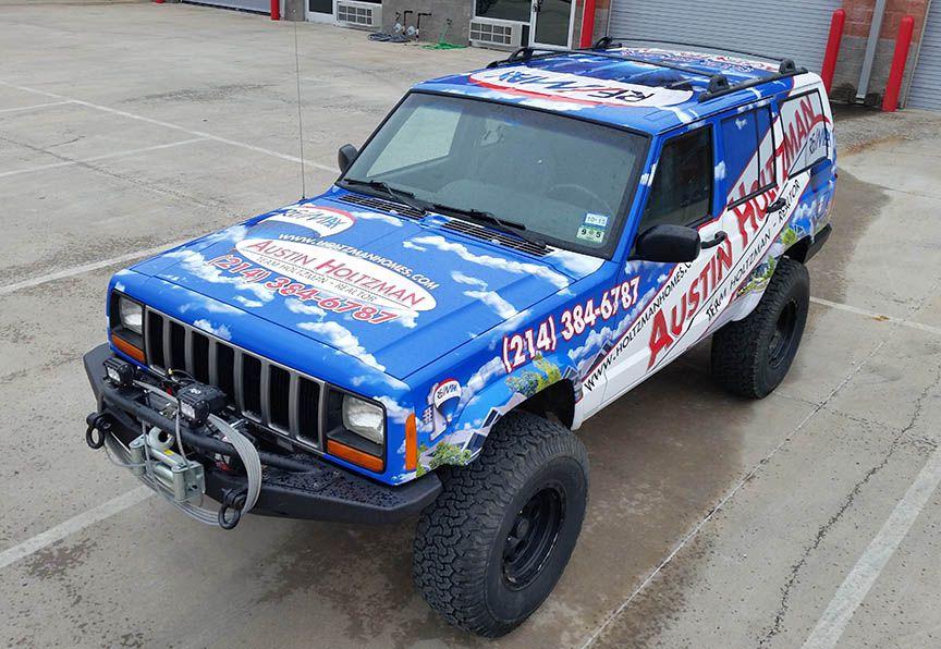 Jeep Cherokee Vehicle wrap