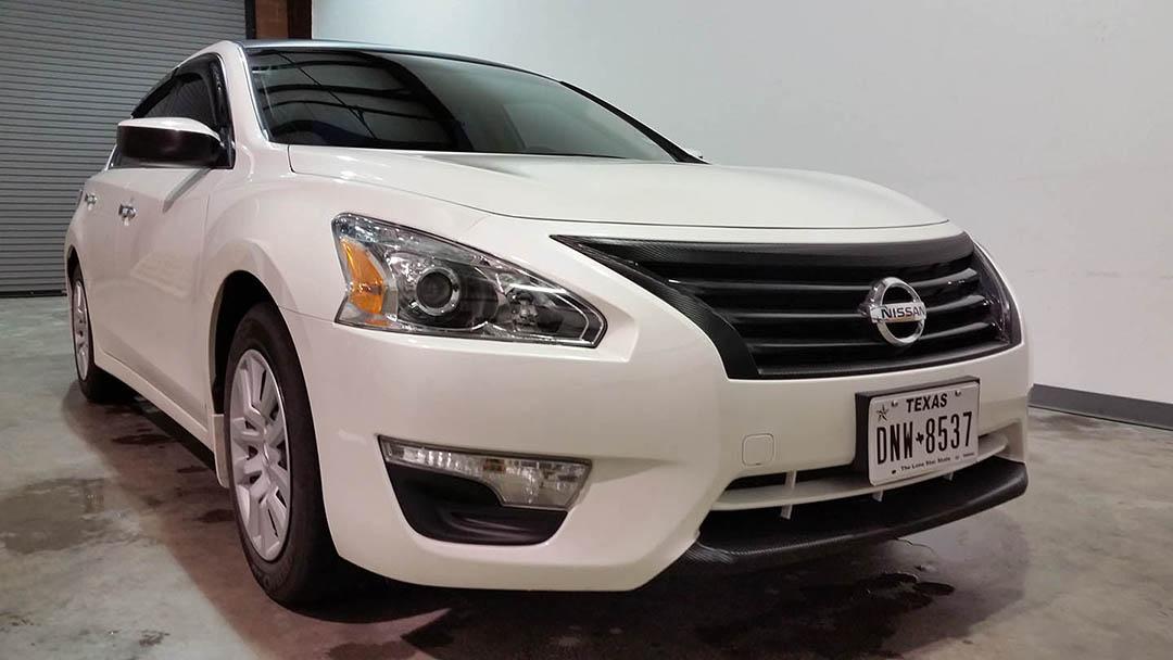 Nissan Altima Carbon Fiber Wrap