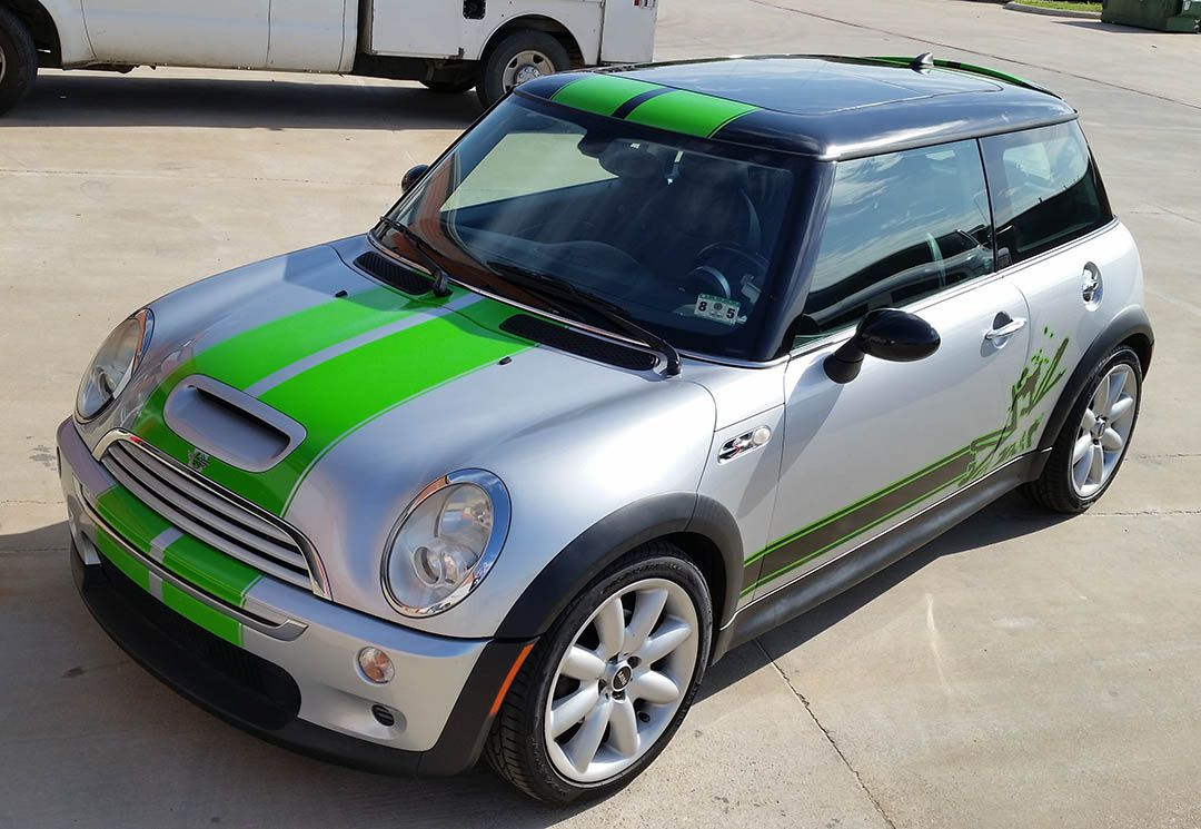 Mini Racing vehcile wrap DFW Lewisville