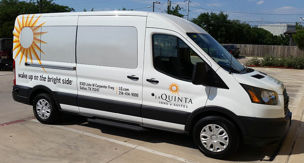 laquinta vehicle wrap