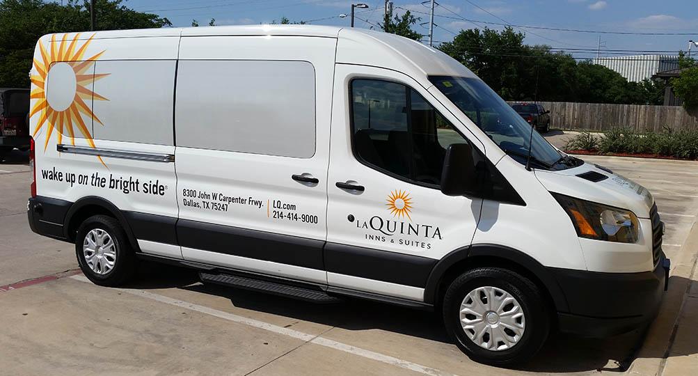 laquinta vehicle wrap