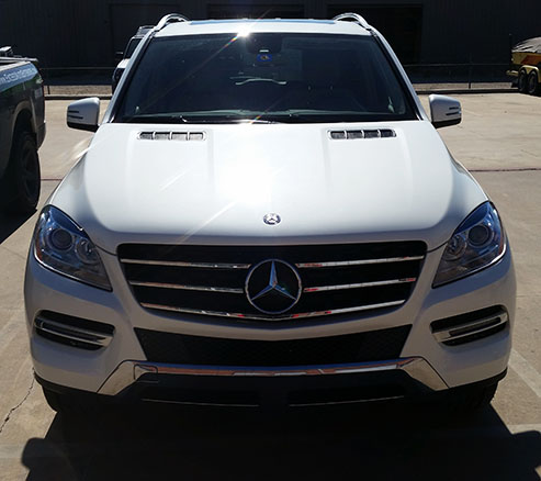 dallas paint protection clear bra mercedes