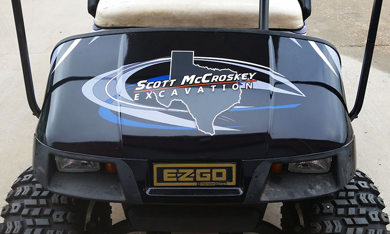 Golf Cart Wrap Dallas