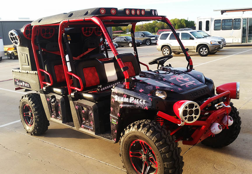 Ranger ATV Vehicle Wrap lewisville dallas
