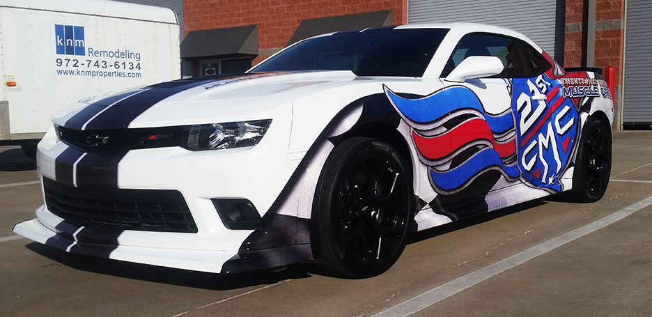 custom vehicle wrap designs