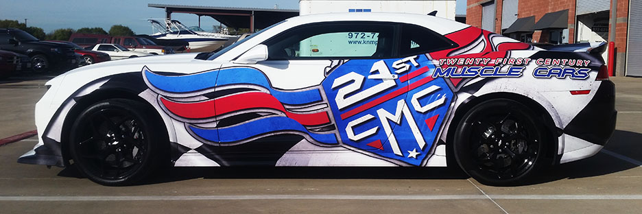 custom vehicle wrap lewisville