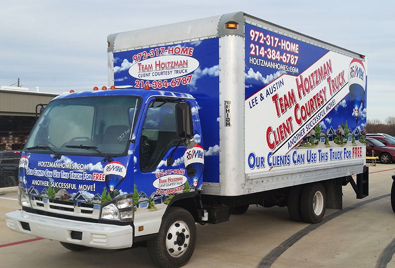 Box Truck Wraps Holtzman