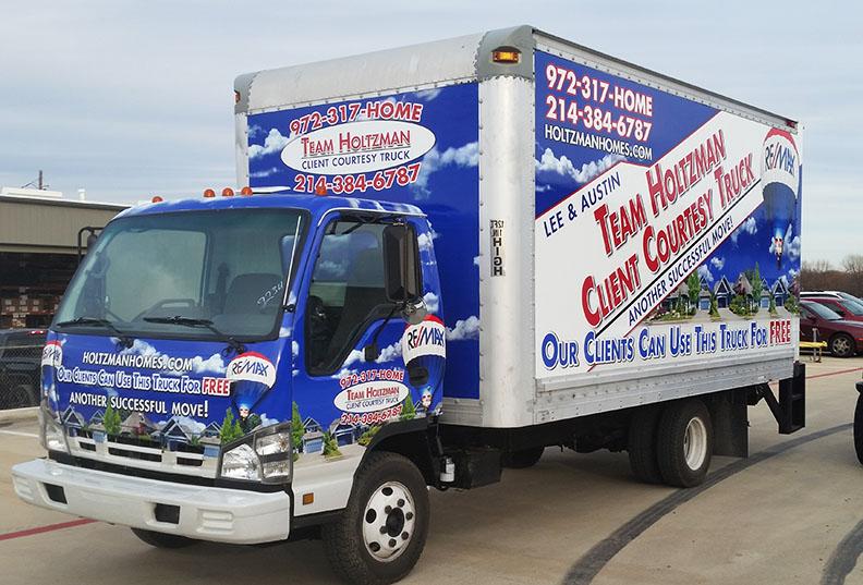 Box Truck Wraps Holtzman