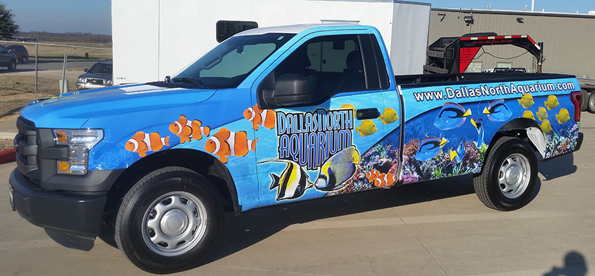 Dallas North Aquarium Truck Warp
