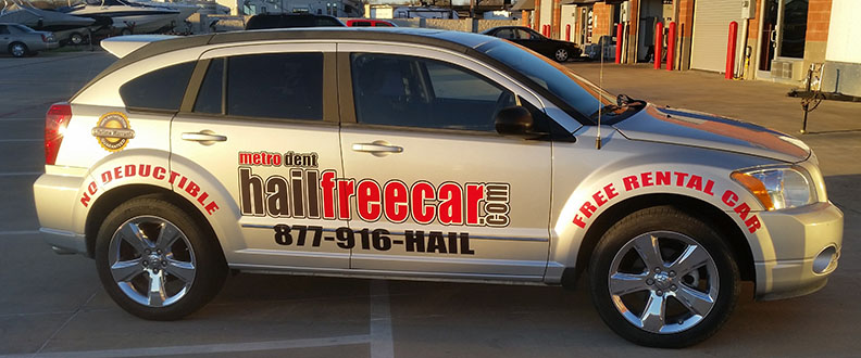 dallas car wraps hailfreecar