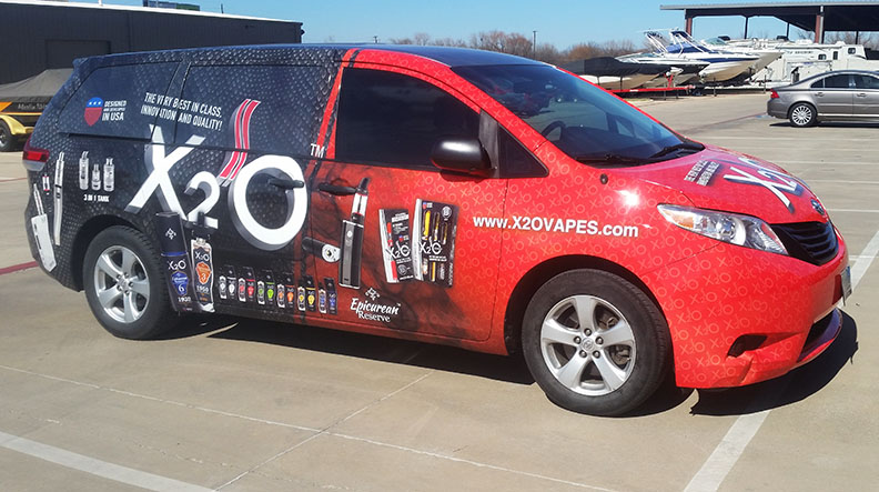 van wrap dallas