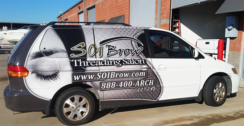 Van Vehicle Wrap Dallas