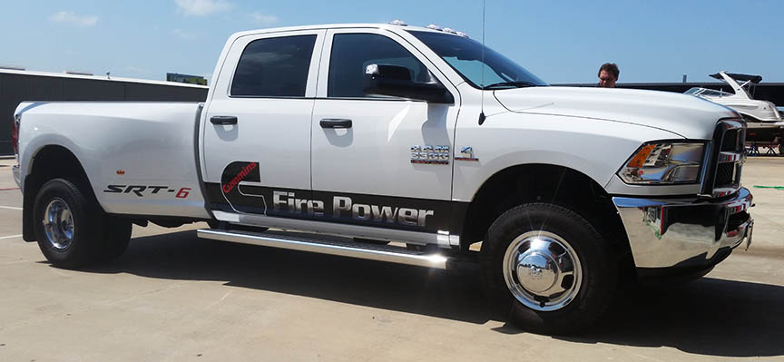 truck vehicle wrap dallas