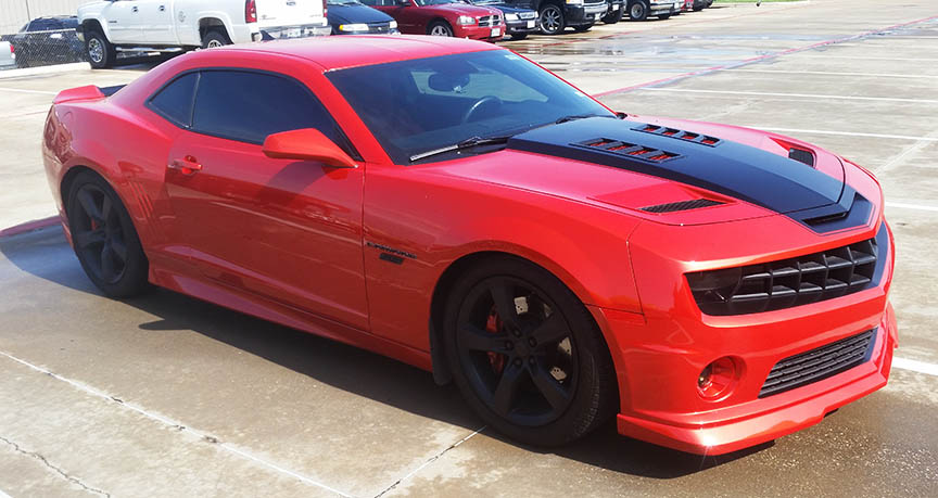 xpel clear bra dallas and lewisville camaro