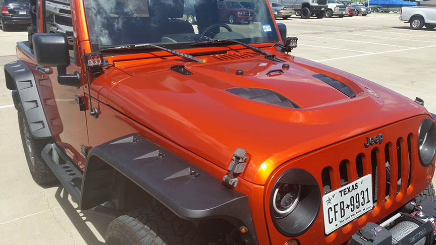 Jeep Wrap lewisville dallas