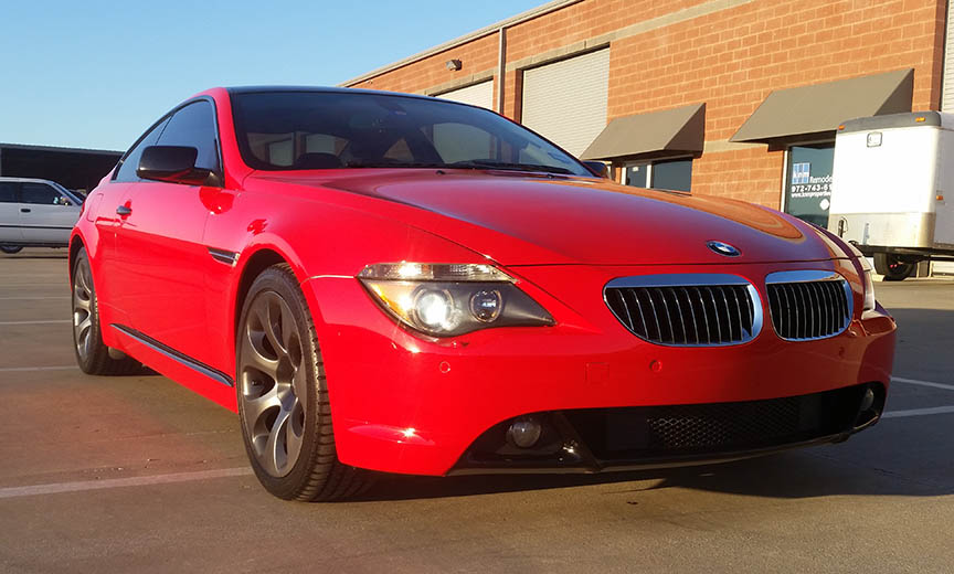 bmw car wrap color change